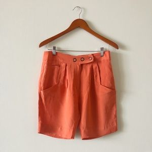 Beautiful vintage silk shorts